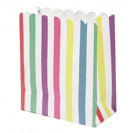 Borsine in carta con adesivi