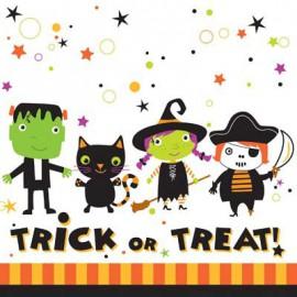Tovaglioli Halloween Tiny Terrors 18pz