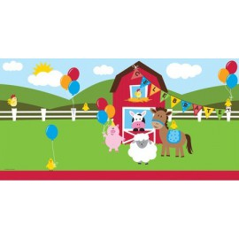 Farmhouse Fun Plastic Tablecover