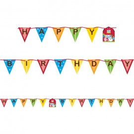 Farmhouse Fun Ribbon Banner