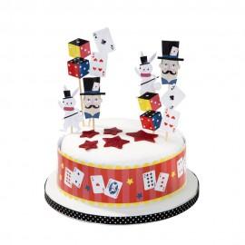 Decorazione per torta Festa Magia