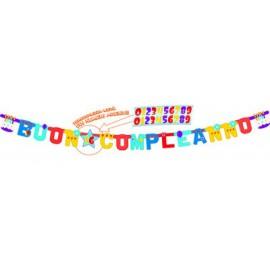Buon Compleanno Customizable Banner