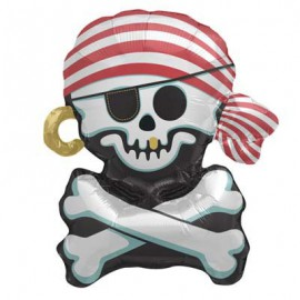 Jolly Roger Foil Balloon