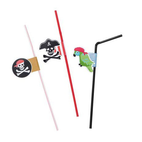 Pirate Straws