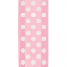 Light Pink Dots Treat Bags
