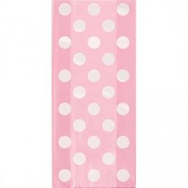 Light Pink Dots Treat Bags