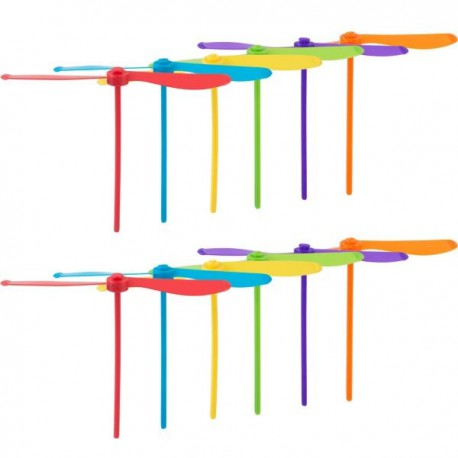 Whirl-a-copters 8pc