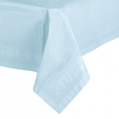 Pastel Blue Paper Tablecover