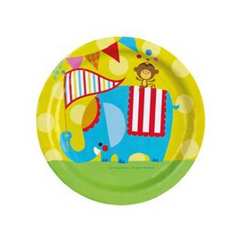 Fisher Price Circus Dinner Plates