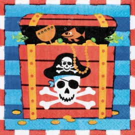 Pirates Treasure Lunch Napkins