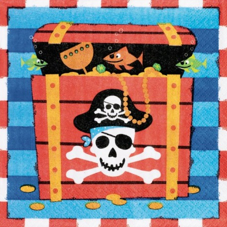 Tovaglioli Pirates Treasure