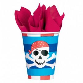 Pirates Treasure Paper Cups