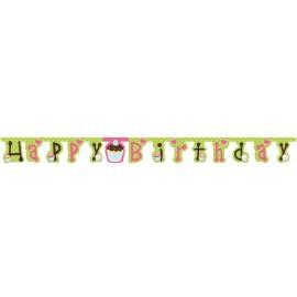 Festone Happy Birthday Dolci Dolcetti