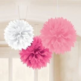 Pink Mix Fluffy Decorations