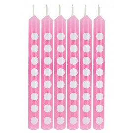 Pink Dots Candles