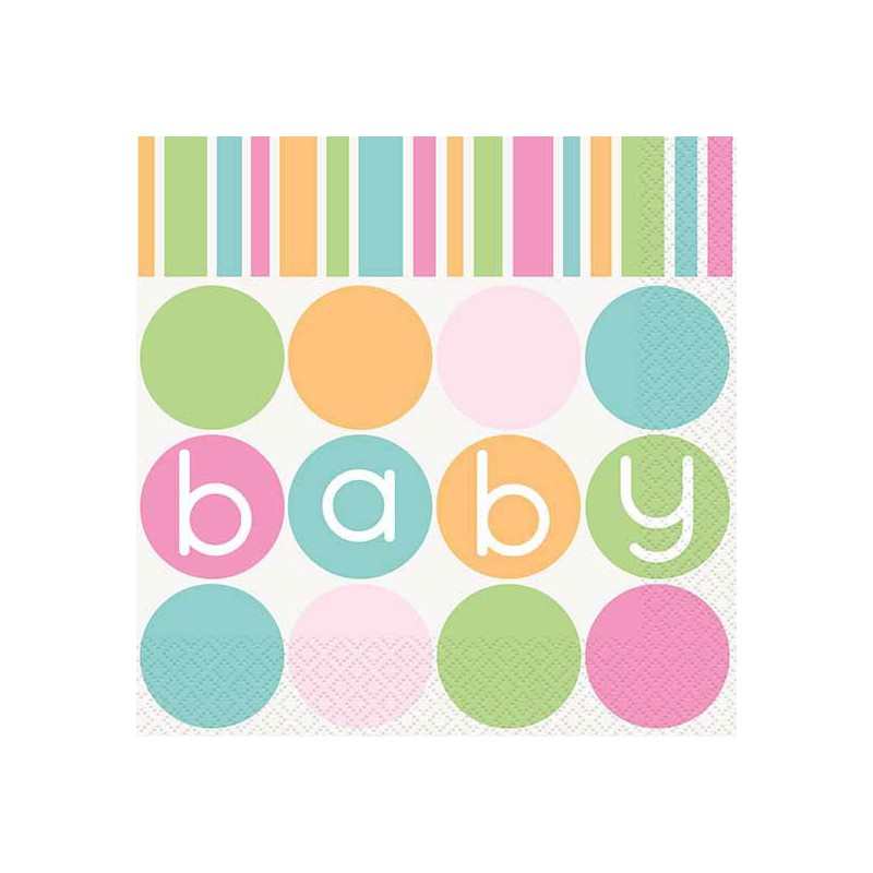 pastel baby shower lunch napkins pastel baby shower baby shower baby