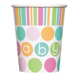 Pastel Baby Shower Paper Cups