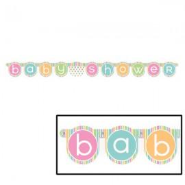 Pastel Baby Shower Banner
