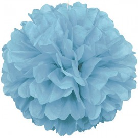 Light Blue Fluffy Decoration