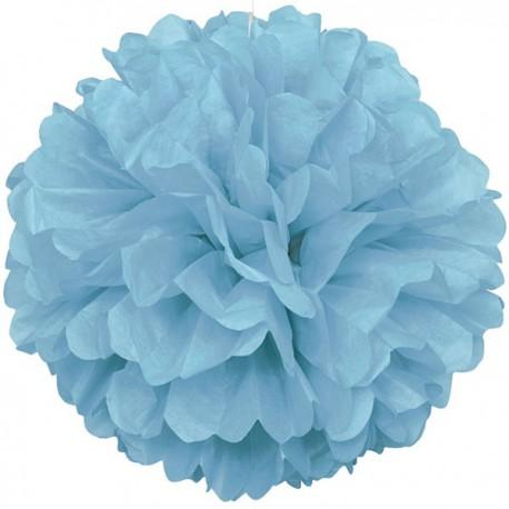 Light Blue Fluffy Decoration