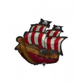 Pirate Ship SuperShape Foil Balloon