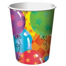 Happy Birthday Balloons Cups