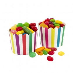 Multicolored Treat Cups