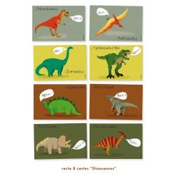 Biglietti Invito Dinosauri
