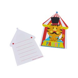 Fisher Price Circus Invitations