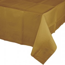 Golden Paper Tablecover
