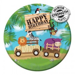 Safari Party Dessert Plates