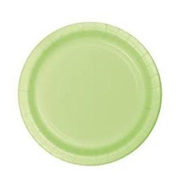 Green Paper Dinner Plates