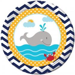 Under the Sea Dessert Plates