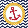 Mariner Anchor Lunch Napkins