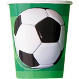 Bicchieri Calcio 3D 266ml 8pz