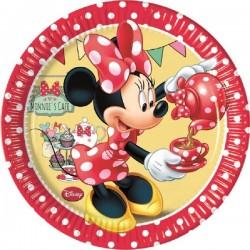 Minnie's Café Dessert Plates