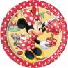 Minnie Polka Dots Dessert Plates
