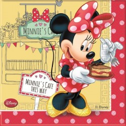 Minnie's Café Lunch Napkins
