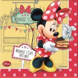 Tovaglioli Minnie's Café