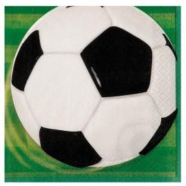 Tovaglioli Calcio 3D 33x33cm 16pz