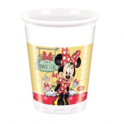 Minnie's Café plastic cups