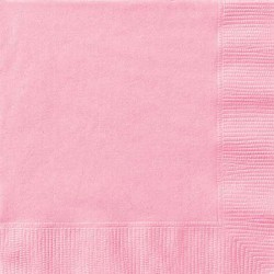 Lovely Pink Lunch Napkins