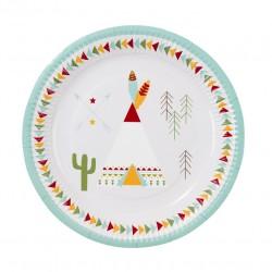 Pow Wow Plates 2 designs