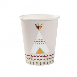 Pow Wow Party Cups