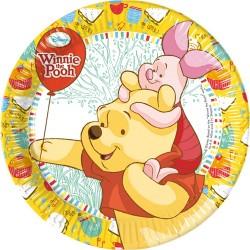 Winnie the Pooh Dessert Plates