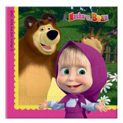 Masha and the Bear Napkins