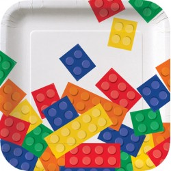 Lego Block Party Dessert Plates