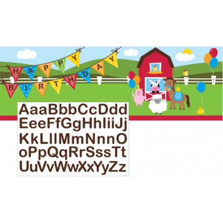 Farmhouse Fun Giant Banner