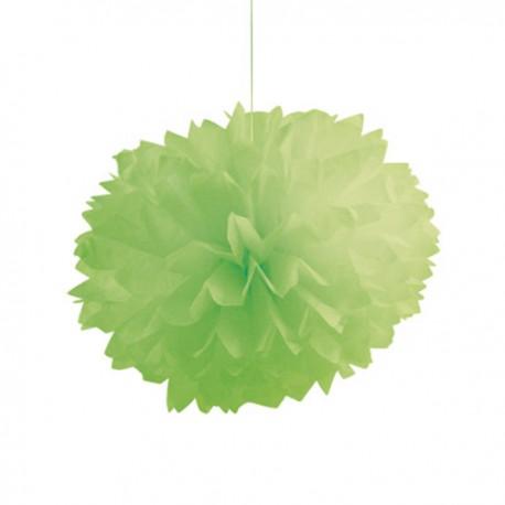 Set Pompom Verde 3pz