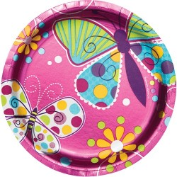 Fancy Fairy Dessert Plates